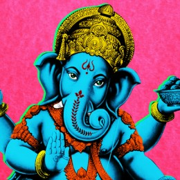 Ganesha Gulabi