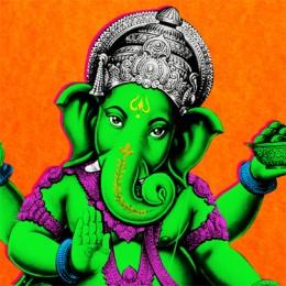 Ganesha Naranja